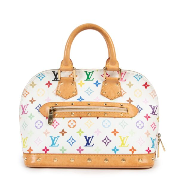 Louis Vuitton x Murakami Multicolour Monogram Alma now online and available at Labellov Luxury come by in our showroom or shop online 24/7