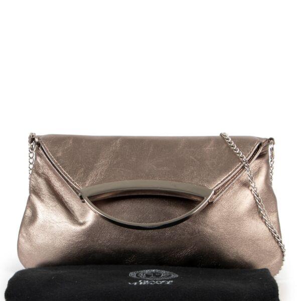 Gianni Versace Gold Chain Clutch Bag