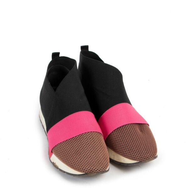 Balenciaga Black Race-Runner Sneakers - size 38