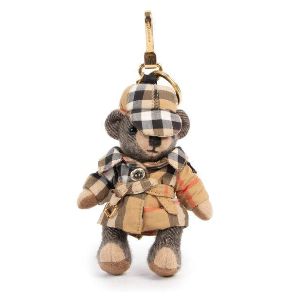 Shop safe online 100% authentic second hand Burberry Monogram Bear Keychain in very good condition at the right price at Labellov in Antwerp.