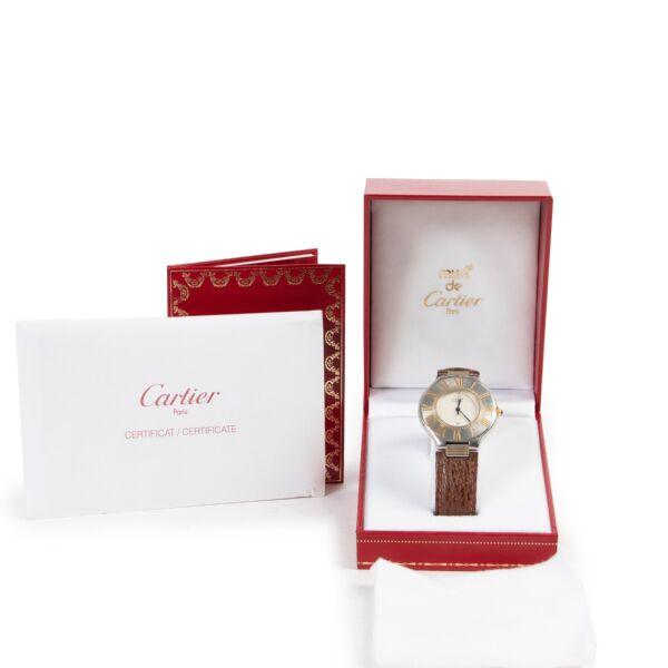 Must De Cartier Brown Must 21 Watch