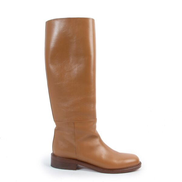 Shop safe online 100% authentic second hand Celine Cognac Boots - Size 39 in very good condition at the right price at Labellov in Antwerp.