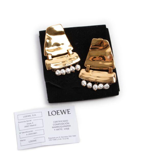 Loewe Gold Earrings