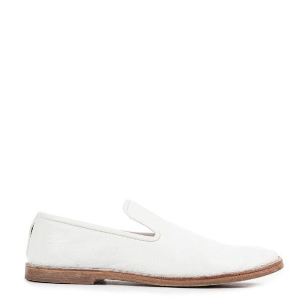 Celine White Flats - Size 37,5