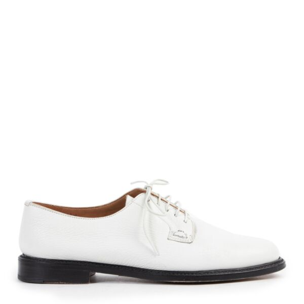 Church's White Lace-up Shoes - size 37