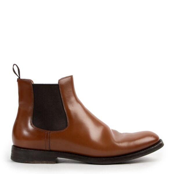 Churchs Cognac Ankle Boots - size 38