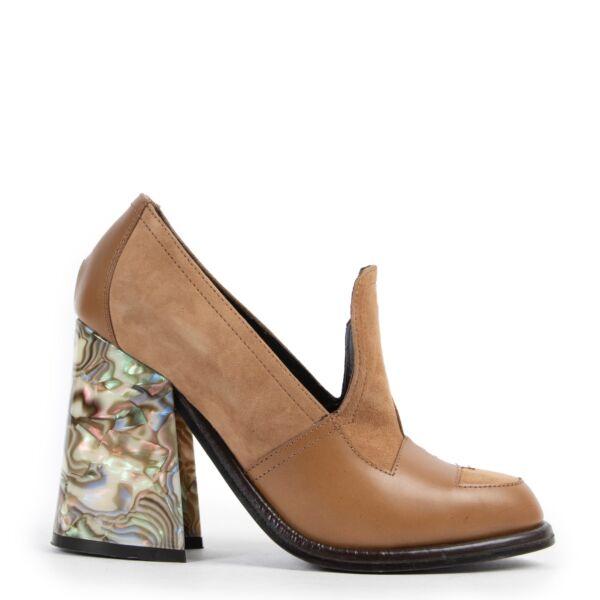 Shop safe online at Labellov in Antwerp 100% authentic second hand JW Anderson Beige Heels - Size 38
