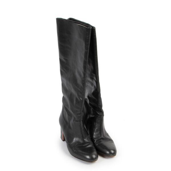 Veronique Branquinho Green Boots - Size 38
