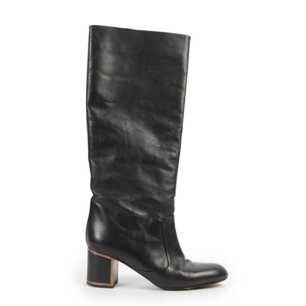 Shop safe online 100% authentic second hand Veronique Branquinho Green Boots at Labellov in Antwerp.