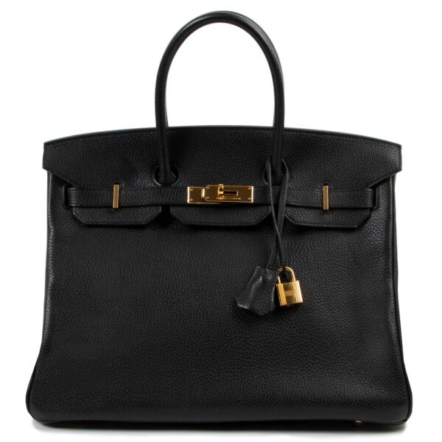Hermès Birkin 35 Black Togo GHW
