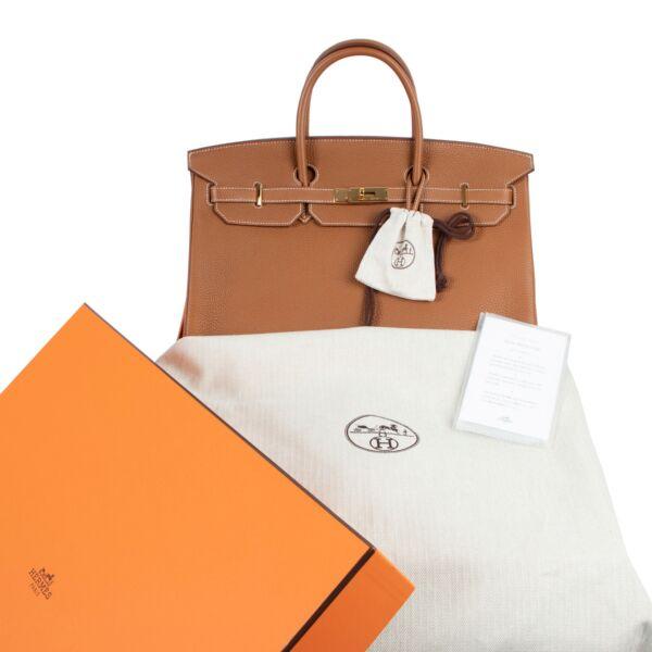 Hermès Birkin 40 Gold Togo GHW