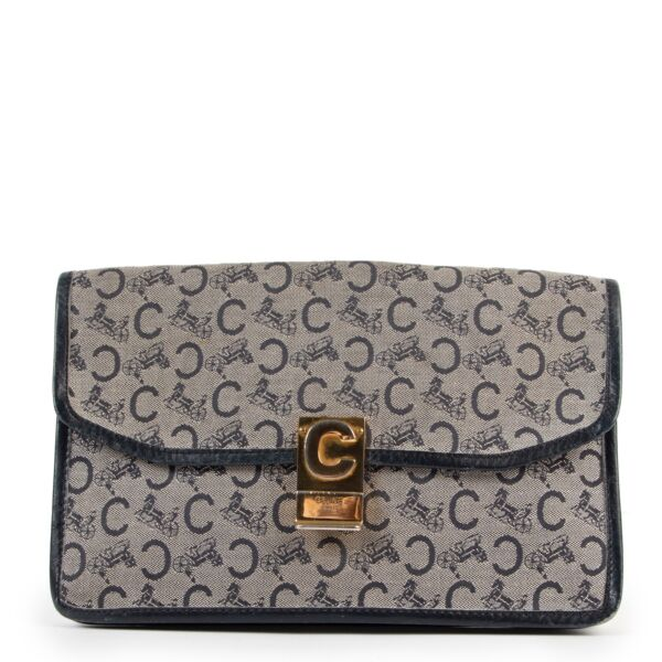 Buy an authentic second hand Celine monogram clutch at Labellov