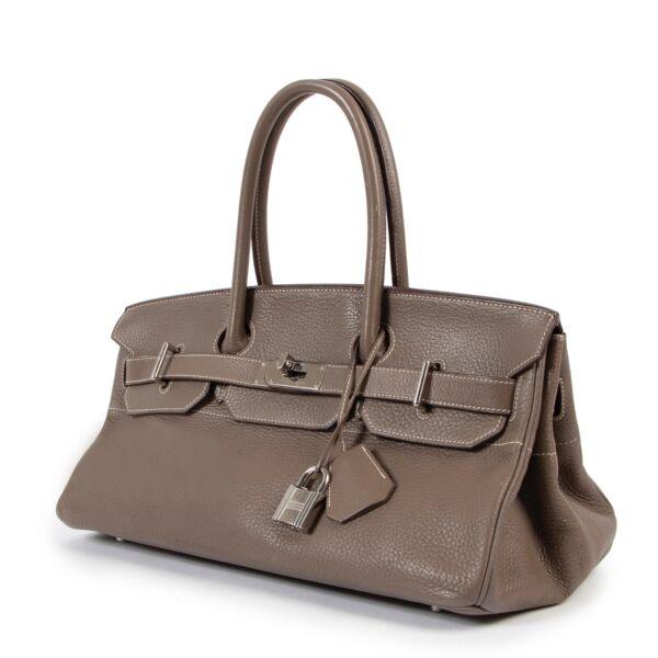 Hermès JPG Birkin Shoulder Bag 40 Taurillon Clemence Etoupe PHW