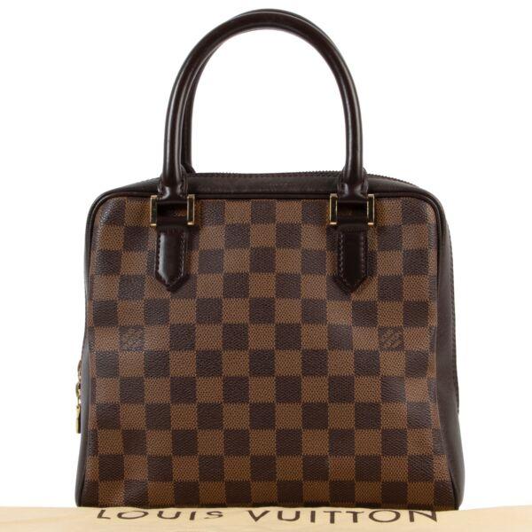 Louis Vuitton Brera Damier Ebene Handbag