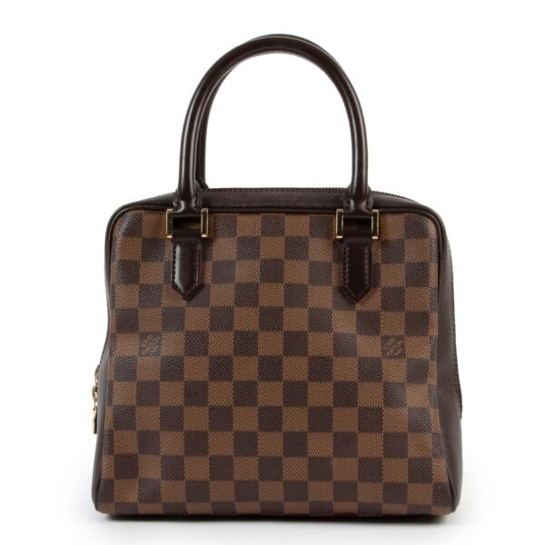 shop and sell authentic vintage Louis Vuitton Brera Damier Ebene Handbag at Labellov for the best price