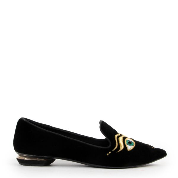 Nicholas Kirkwood loafers for the best price at Labellov secondhand luxury in Antwerp Belgium