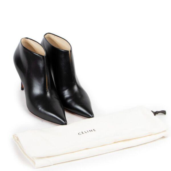 Celine V-Neck Ankle Boots - Size 37