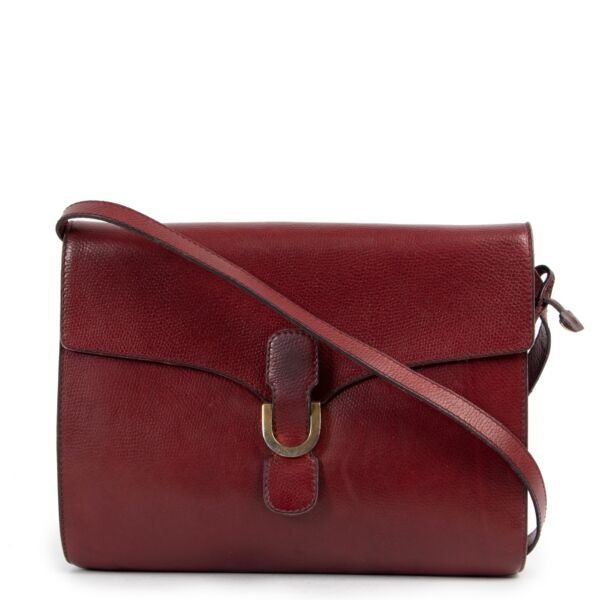 Delvaux Red Crossbody Bag