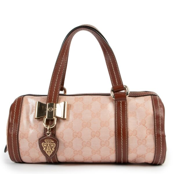 Gucci Duchessa Crystal GG Small Boston Bag for the best price at labellov secondhand luxury in Labellov secondhand shop