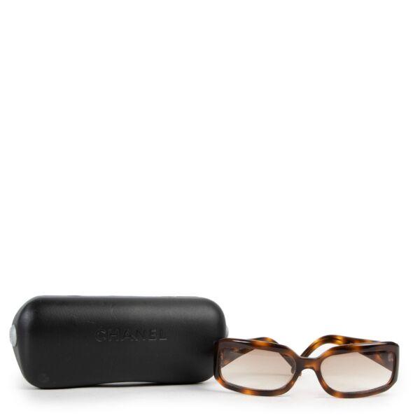 Chanel Brown Leopard Glasses