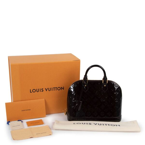 Louis Vuitton Vernis Amarante Alma PM