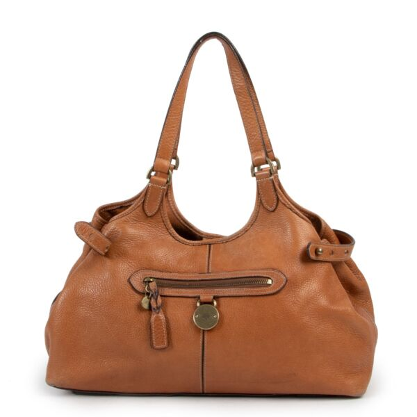 Mulberry Cognac Oak Leather Somerset Small Tote