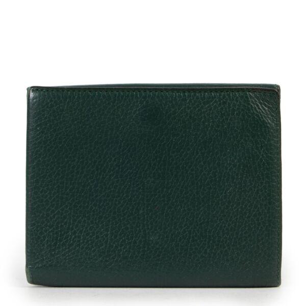 Delvaux Green Wallet
