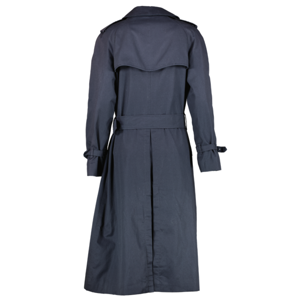 Burberry Blue Trench Coat
