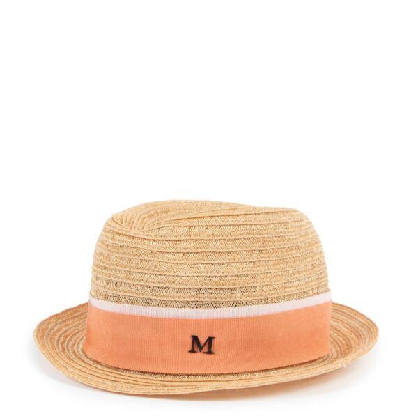 Shop safe online at Labellov in Antwerp this 100% authentic second hand Maison Michel Beige Straw Hat - Size M