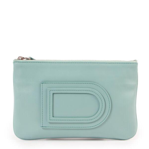 Delvaux Light Blue  Wallet