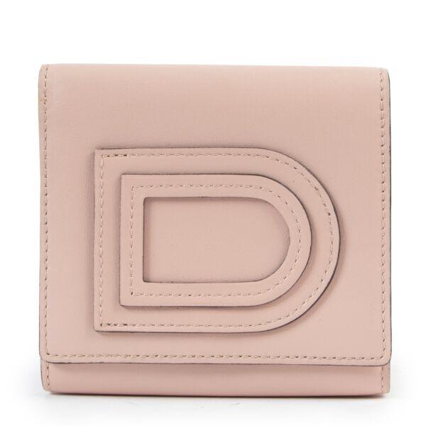 Delvaux Dusty Pink Wallet