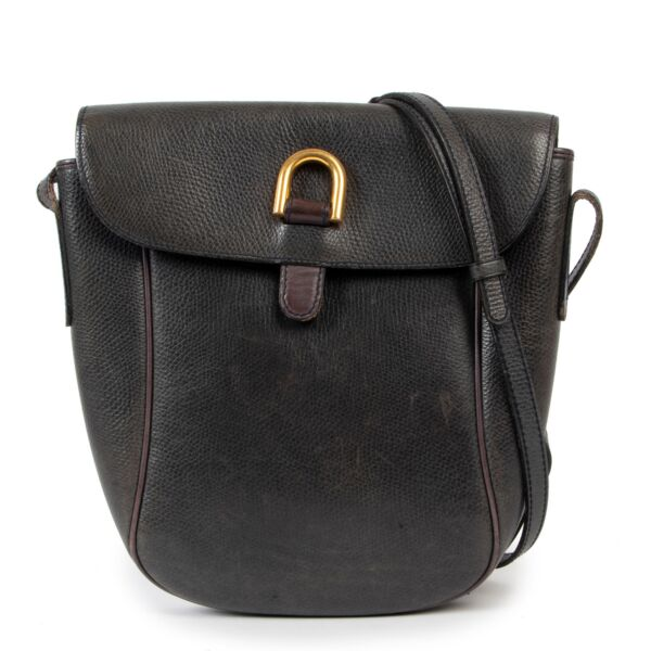 Delvaux Vintage Blue Sulky Crossbody Bag