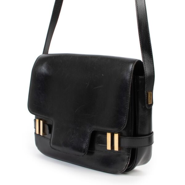 Delvaux Black Leather Crossbody