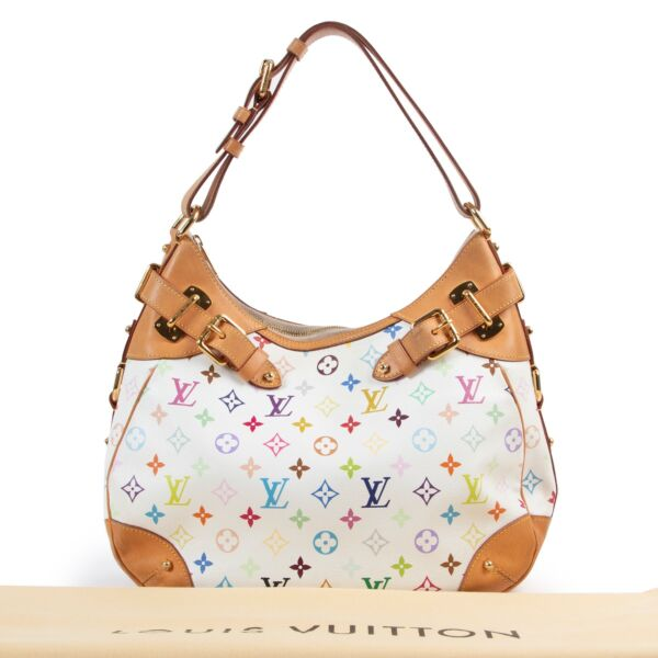 Louis Vuitton Murakami Canvas Greta Shoulder Bag
