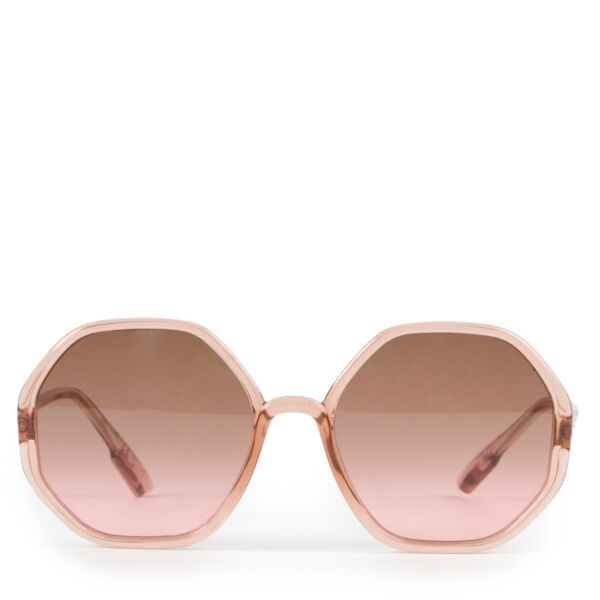 Shop safe online at Labellov in Antwerp this 100% authentic second hand Christian Dior Pink So Stellaire 05 Sunglasses