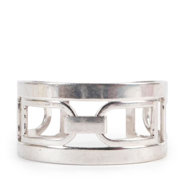 Buy an authentic second hand Delvaux Silver Bracelet at Labellov