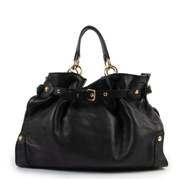 Buy an authentic second hand Miu Miu Black Shoulder Bag at Labellov