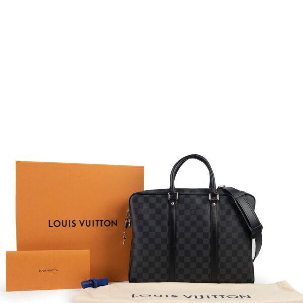 Louis Vuitton Damier Graphite Porte-Documents Voyage PM