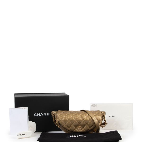 Chanel Bronze Easy Trip Waist Bag