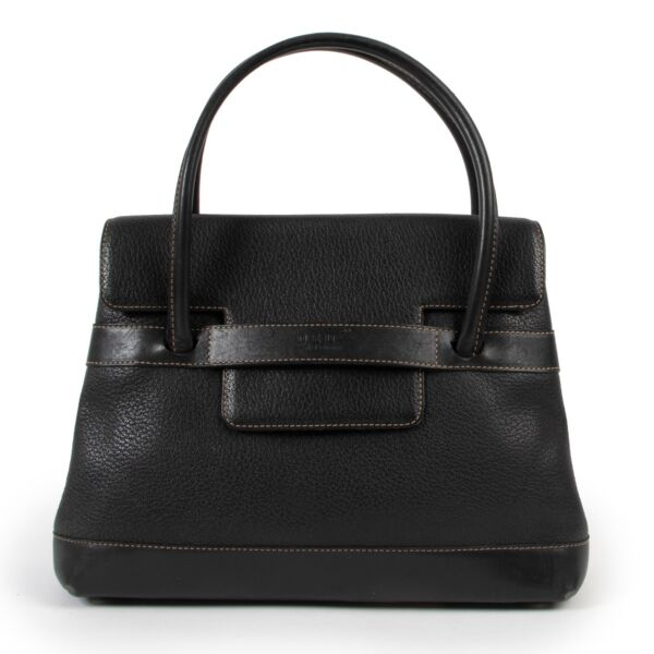 shop vintage second hand Delvaux Black Top handle at Labellov for the best price