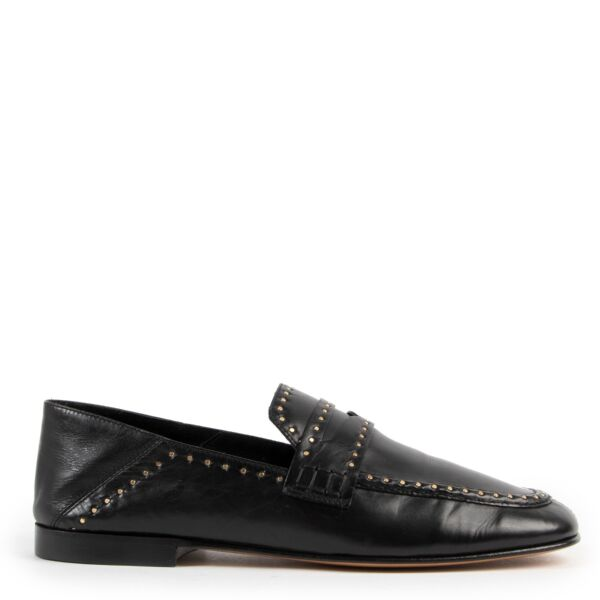 Isabel Marant Black Flats Buy this pair of Isable Marant safely here