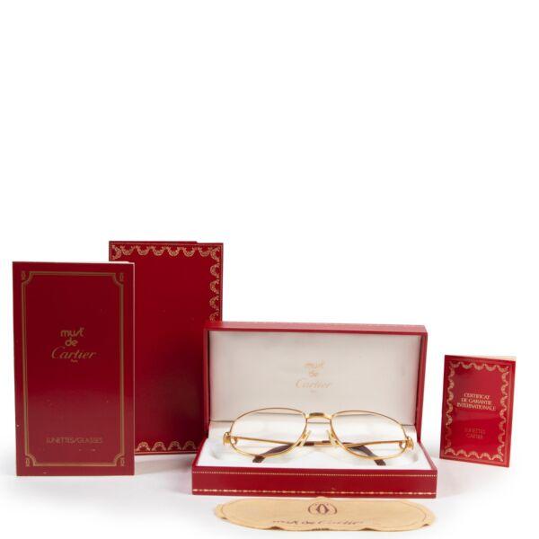 Cartier Gold Glasses