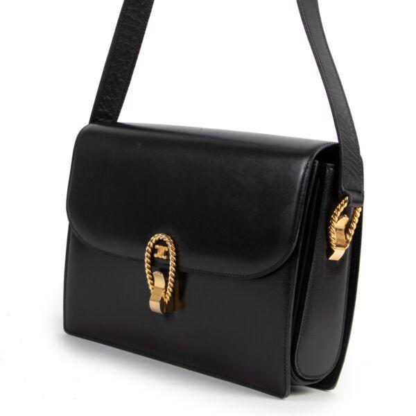 Celine Vintage Medium Triomphe Box Bag