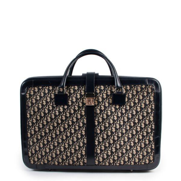 buy and sell vintage authentic Christian Dior Monogram Medium Travel Bag on Labellov.com