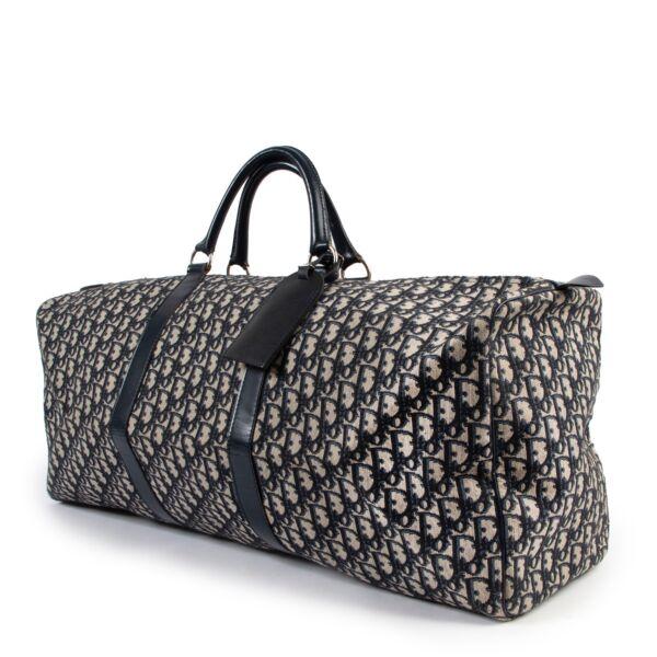 Christian Dior Monogram Large Boston Bag