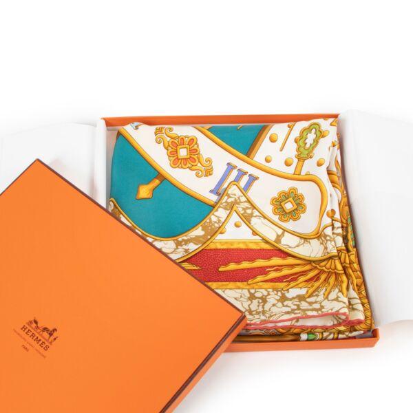 Hermès Silk Carpe Diem Scarf