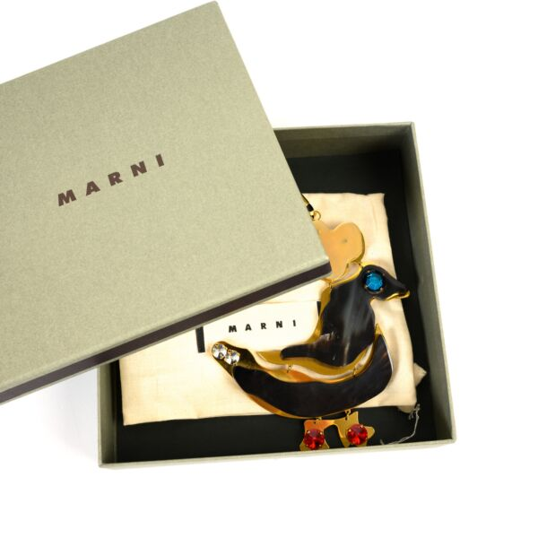 Marni Duck Charm Necklace