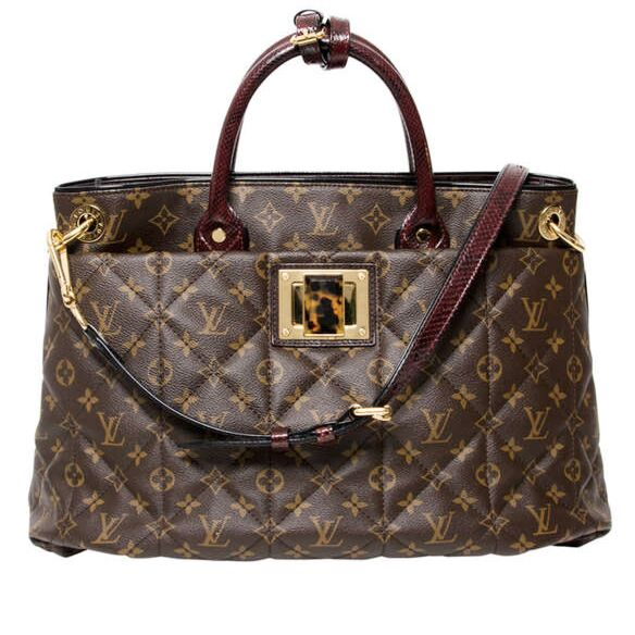 Louis Vuitton Monogram Etoile Exotique MM Tote Bag. Buy Secondhand Authentic designer Louis Vuitton Labellov webshop secure and safe online shopping