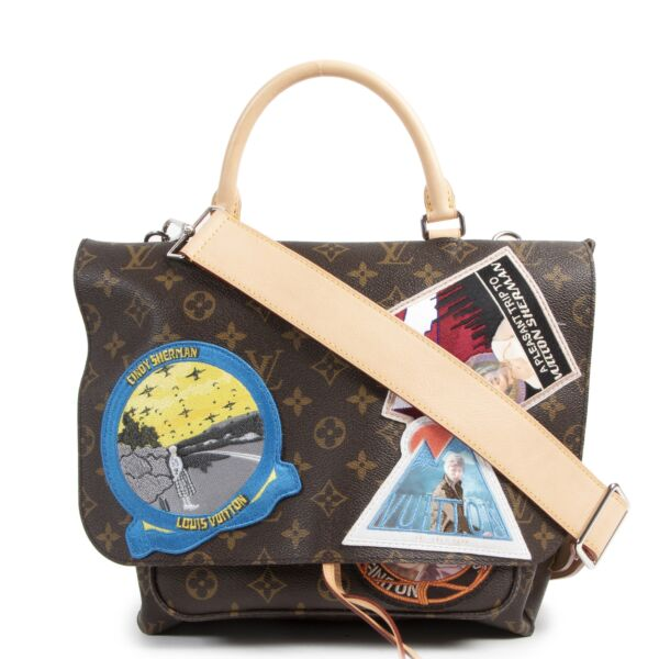 We buy and sell your authentic designer Louis Vuitton Limited Edition Cindy Sherman Messenger Bag for the best price