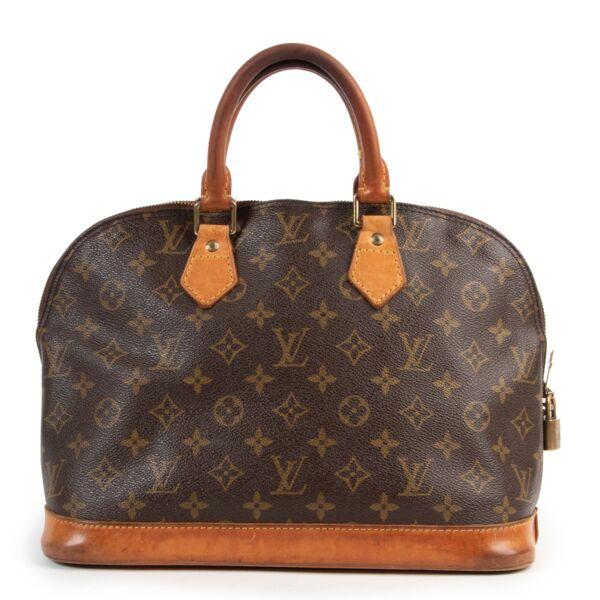 Louis Vuitton Monogram Canvas Alma PM Top Handle Bag